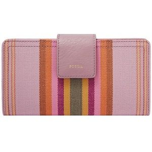 Fossil Logan NWT Clutch Stripe Fabric Wallet